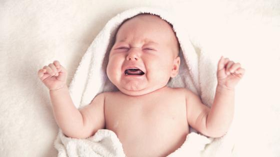 O choro do bebé é um meio de comunicação!